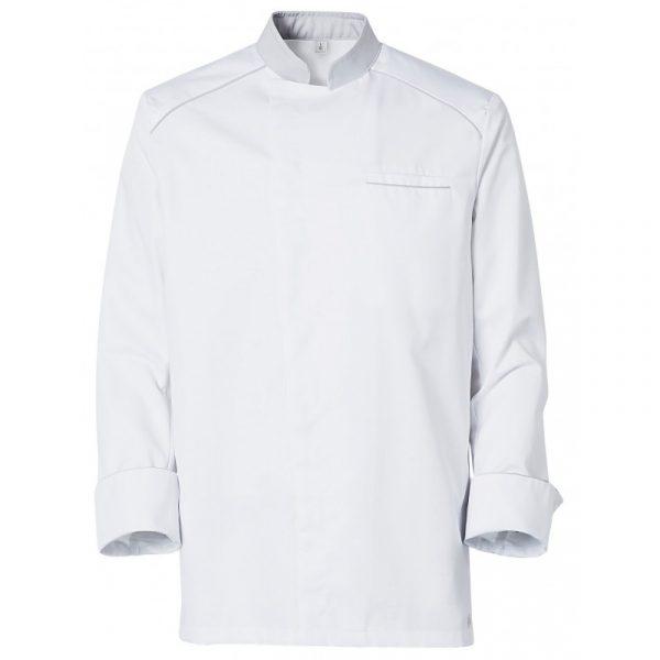 Veste de cuisinier Molinel Cookspirit blanc gris