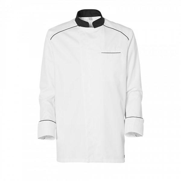 Veste de cuisinier Molinel Cookspirit blanc noir