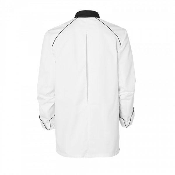 Veste de cuisinier Molinel Cookspirit blanc noir dos