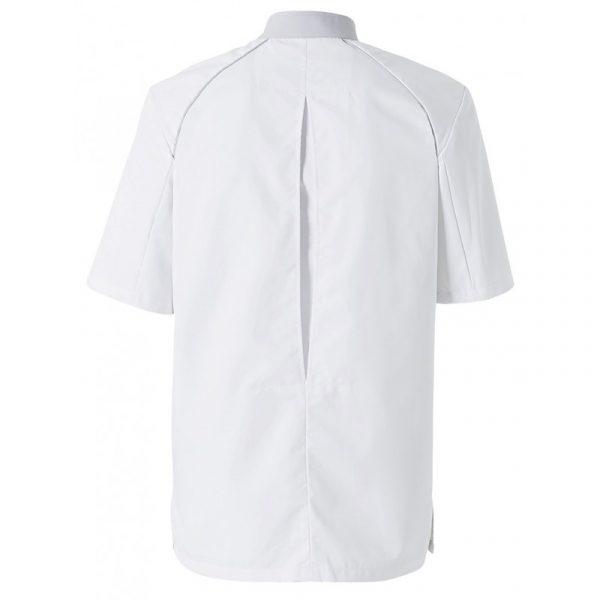 Veste de cuisinier Molinel Cookspirit blanc gris dos