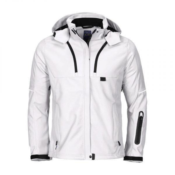 Veste doublée à capuche Femme ProJob Prio Series « 3413 » Blanc