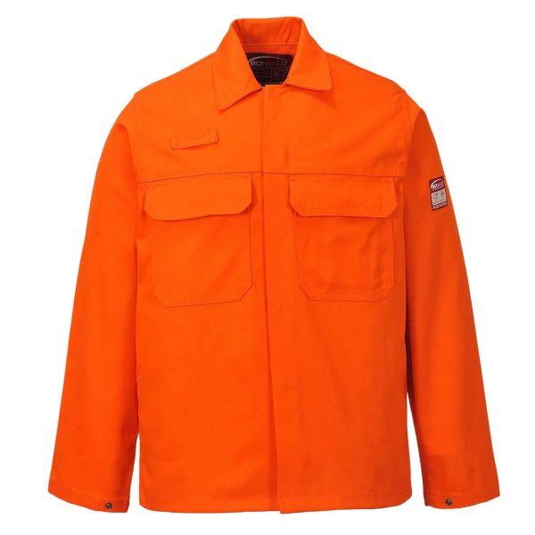 Veste Portwest Bizweld retardateur de flamme Orange