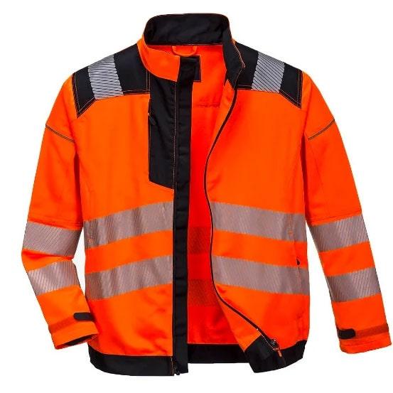 Veste Portwest PW3 haute visibilité Orange
