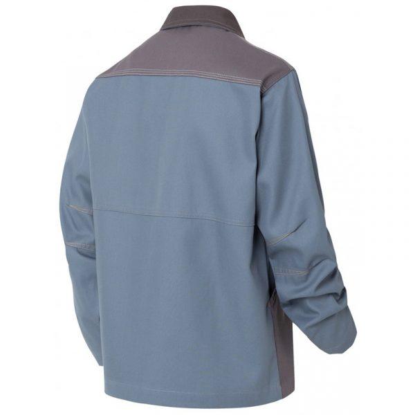 Veste de travail Molinel Millium bleu dos