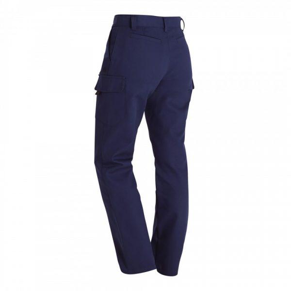 Pantalon BARROUD OPTIMAX CP Femme bleu arrière