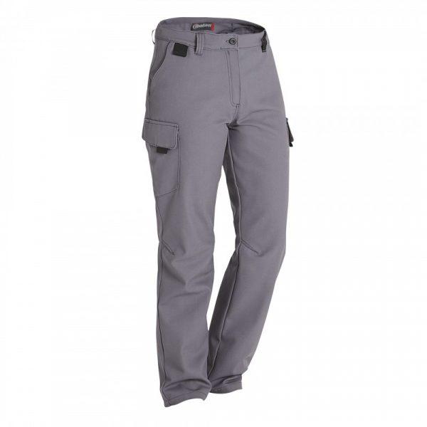 Pantalon BARROUD OPTIMAX CP Femme gris