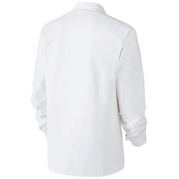 Veste Basique Blanc Dos