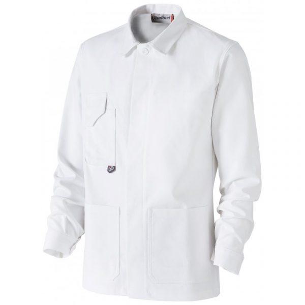 Veste Basique Blanc