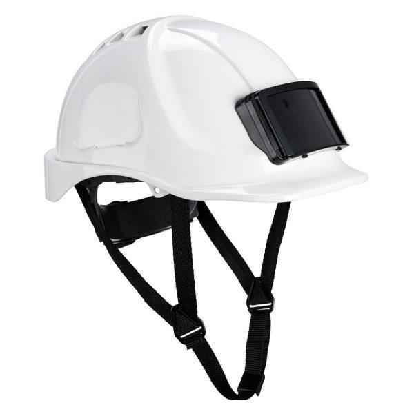 Casque Portwest Endurance avec porte-badge blanc