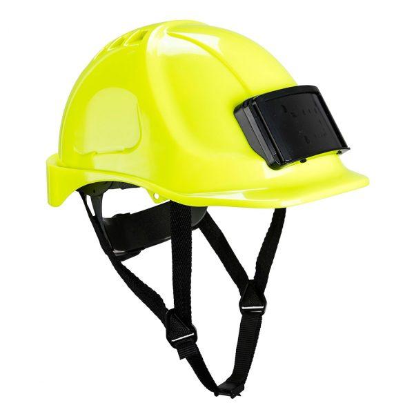 Casque Portwest Endurance avec porte-badge jaune
