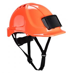 Casque Portwest Endurance avec porte-badge orange