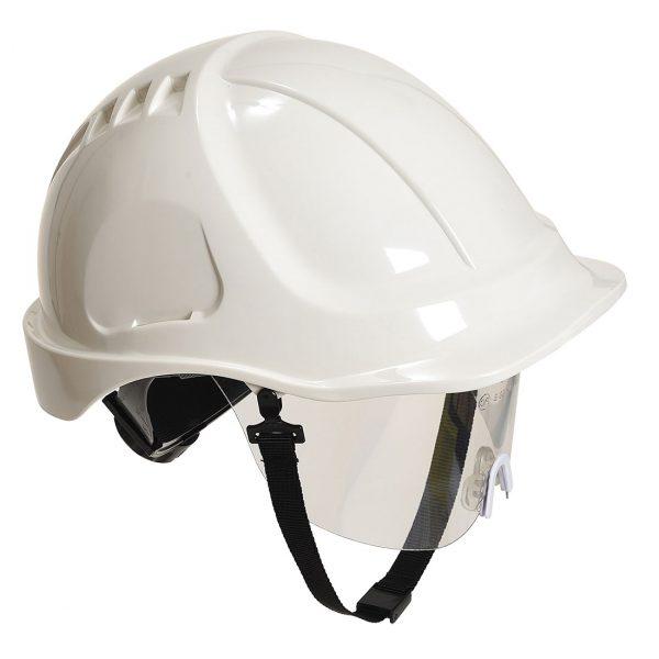 Casque à visière Portwest Endurance plus visor blanc