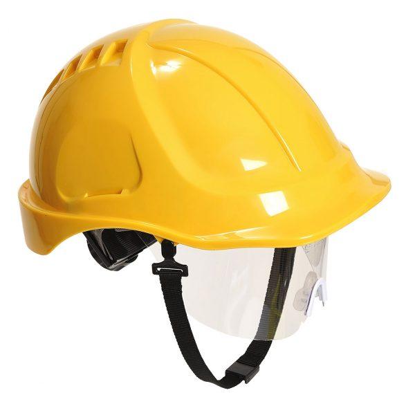 Casque à visière Portwest Endurance plus visor jaune