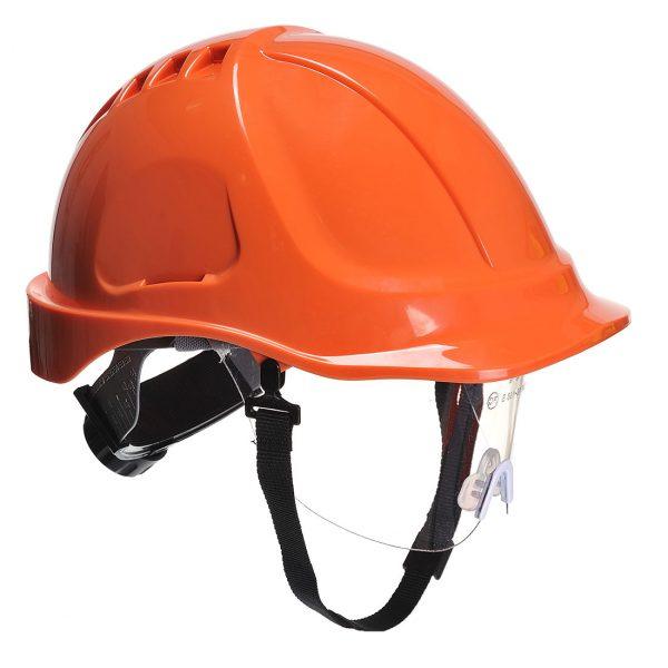 Casque à visière Portwest Endurance plus visor orange