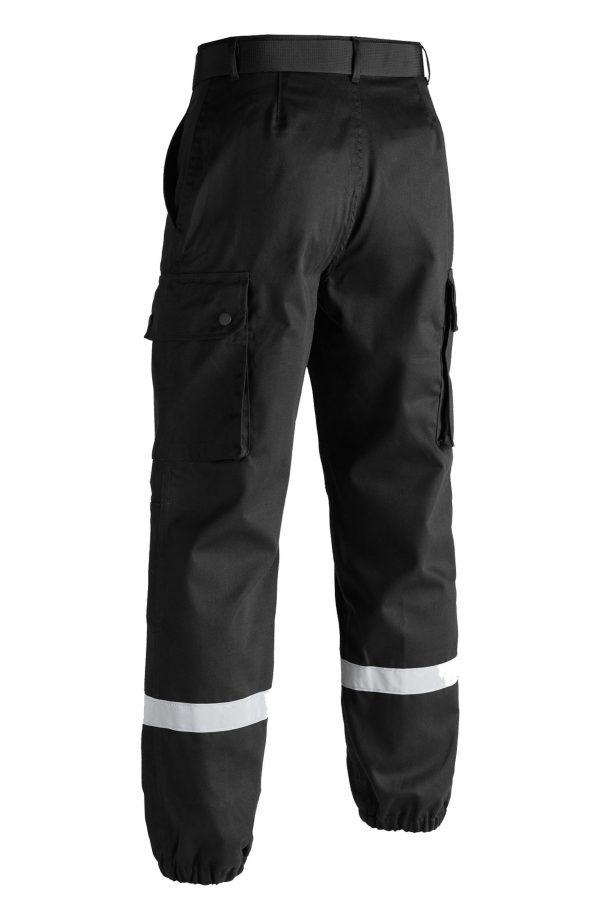 Pantalon F2 noir derriere