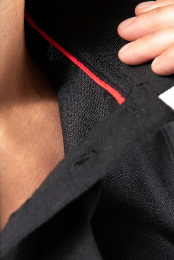 Polo DayToDay contrasté manches courtes homme