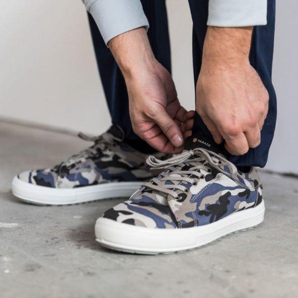 Chaussures de sécurité Parade Vamos S1P Bleu 6