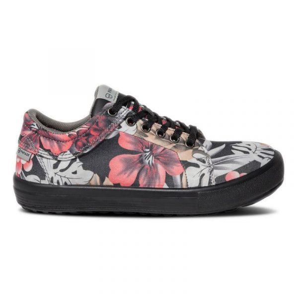 Chaussures de sécurité pour femmes Parade VENICE S1P Noir-rose 2
