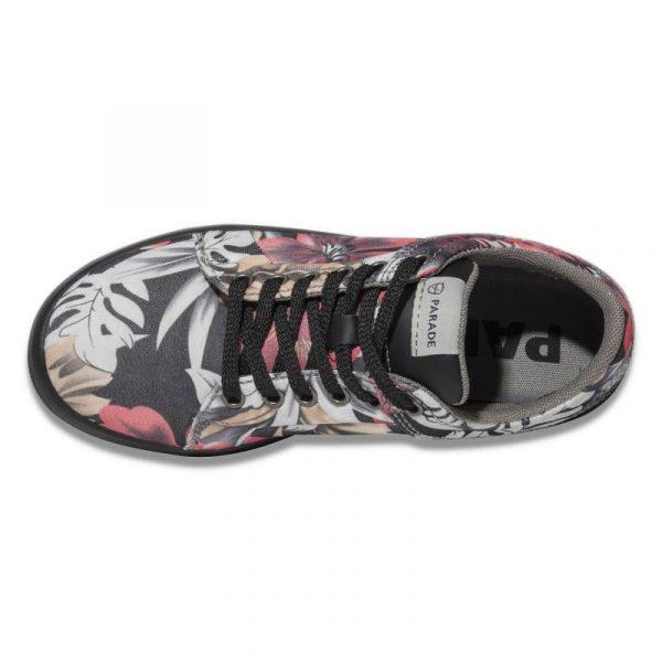 Chaussures de sécurité pour femmes Parade VENICE S1P Noir-rose 1