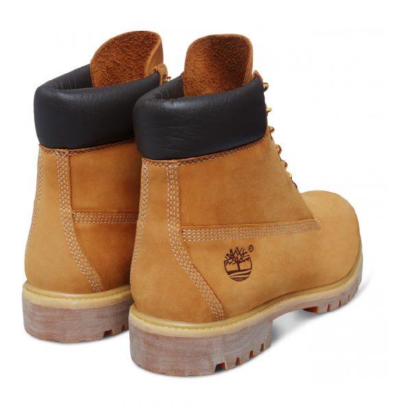 Chaussures de ville Timberland BOOT PREMIUM Jaune 2