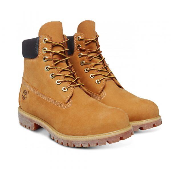 Chaussures de ville Timberland BOOT PREMIUM Jaune 3