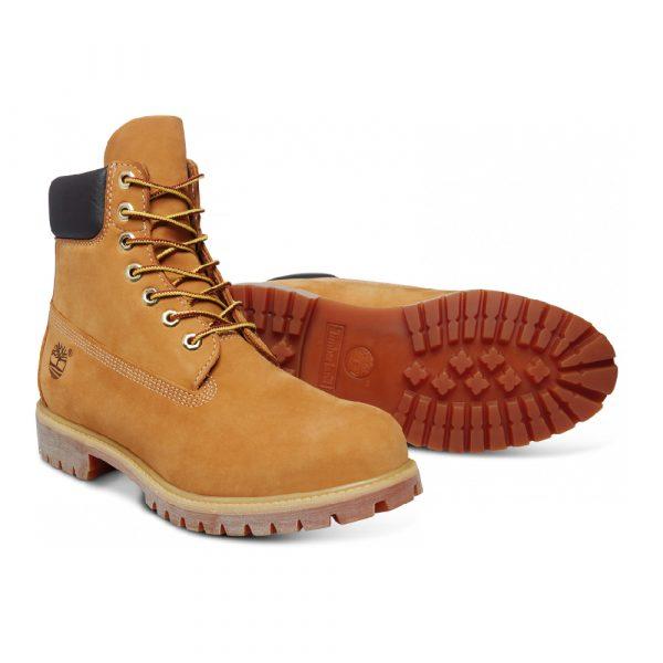 Chaussures de ville Timberland BOOT PREMIUM Jaune 4