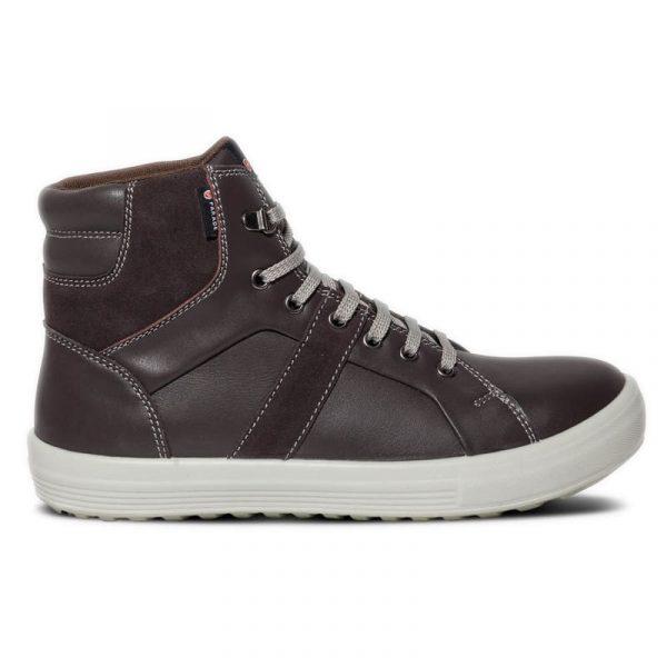 Sneakers montantes de sécurité Parade VISION S3 Marron 1