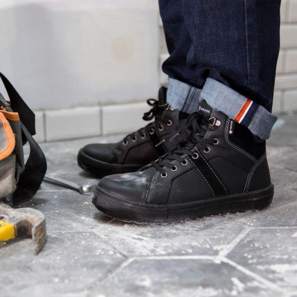 Sneakers montantes de sécurité Parade VISION S3 Noir 4