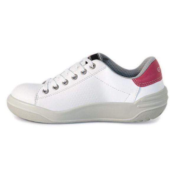 Chaussures de sécurité Parade Jamma S3 Blanc-rose 2