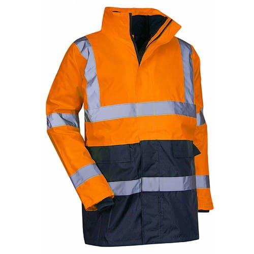 Kit de parkas haute-visibilité LMA PREVENTION version orange 4