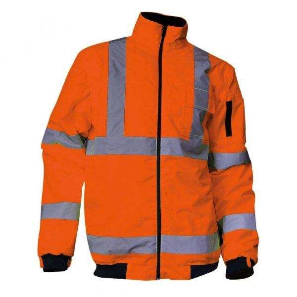 Kit de parkas haute-visibilité LMA PREVENTION version orange 3