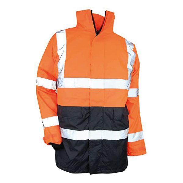 Kit de parkas haute-visibilité LMA PREVENTION version orange 2