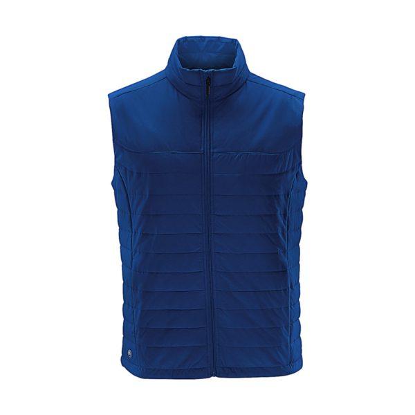 Bodywarmer thermal Nautilus bleu azur