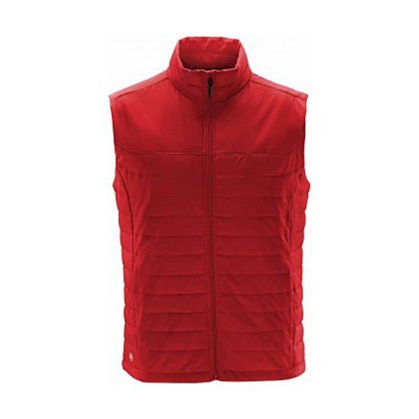 Bodywarmer thermal Nautilus rouge
