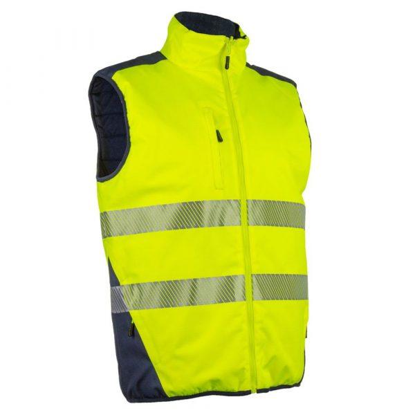 Bodywarmer HV Coverguard Yoru jaune