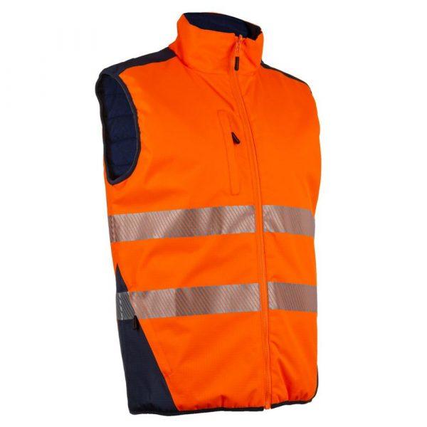 Bodywarmer HV Coverguard Yoru orange