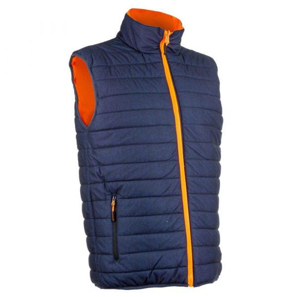 Bodywarmer HV Coverguard Yoru orange réversible