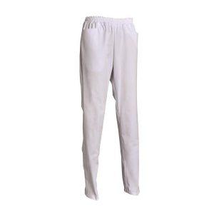 Pantalon SNV Dali poly-coton blanc
