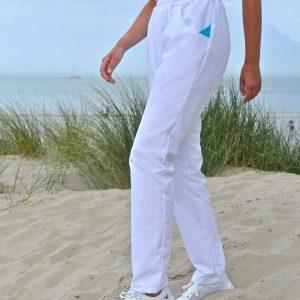 Pantalon pour femme SNV ZEPHYR blanc