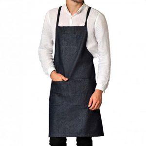 Tablier de cuisine SNV BARRY noir