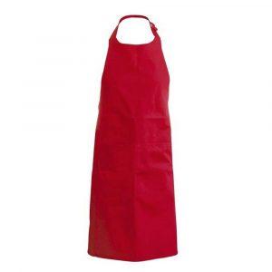 Tablier KARIBAN coton avec poche rouge