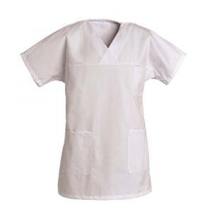 Tunique pour femme SNV FRANCOISE manches courtes blanc