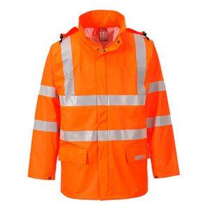 Veste de pluie PORTWEST HiVis FR Sealtex orange